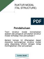 8. Analisis Struktur Modal