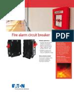 breaker circuit fire alarm