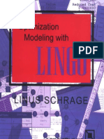 Schrage, L. - Optimization Modeling With LINGO, 6th Ed. (2006) Lindo Systems