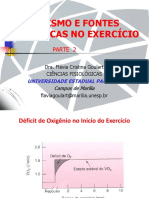 Metabolismo e Exercício