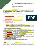 Tema 3. Metafísica y Concepciones Científicas 1ºbach