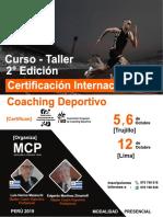 Curso de Coaching Deportivo