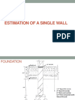 Estimation of Wall