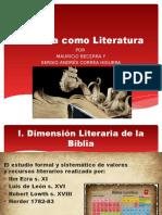 Biblia y Literatura