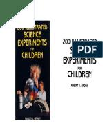 200 experimentos ilustrados de ciencia