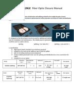 GJS(06)C Fiber Optic Closure Manual