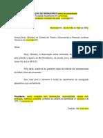 Ofício Cartório - Ato Constitutivo Associação