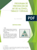 Diapositivas Drogas y Vih