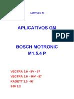 Aplicativos Gm Bosch Motronic m1.5.4 p