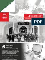 Brochure Proyectos & Equipamento