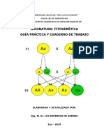 Carátula Guia Practica FITOGENÉTICA
