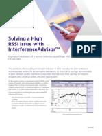Solving High Rssi Issue Interferenceadvisor Case Studies En