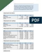 Elaborar El Pronóstico y Presupuesto de Ventas
