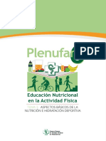 Tema 3 - Nutrición Hidratación Deportiva