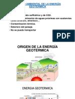 Impacto Ambiental de La Energía Geotérmica
