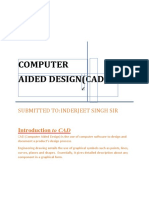 Introduction to Computer Aided Design Raj