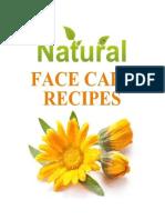 Natural Face Care Recipes PDF 1st Ed