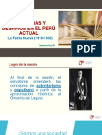 Problemas y Desafíos en El Perú Actual - Sesión 04 y 05