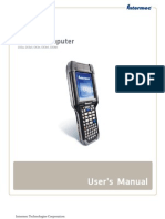 CK3 Mobile Computer User's Manual