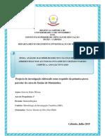 Estevão Pedro Wilson- Projecto de Pesquisa(MIC)
