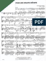 Pavane Pour .. Ravel Fl Ch