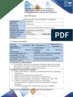 Guia de Actividades y Rubrica de Evaluacion Tarea 1