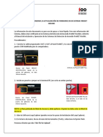 Procedimiento Actualización Firmware FireNET