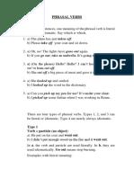Phrasal Verbs1 - Lesson