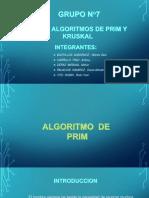 Algoritmo de Prim y Kruskal