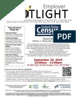 September 2019 Employer Spotlight