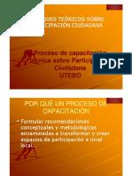 Enfoques Teoricos Sobre Participacion Ciudadana