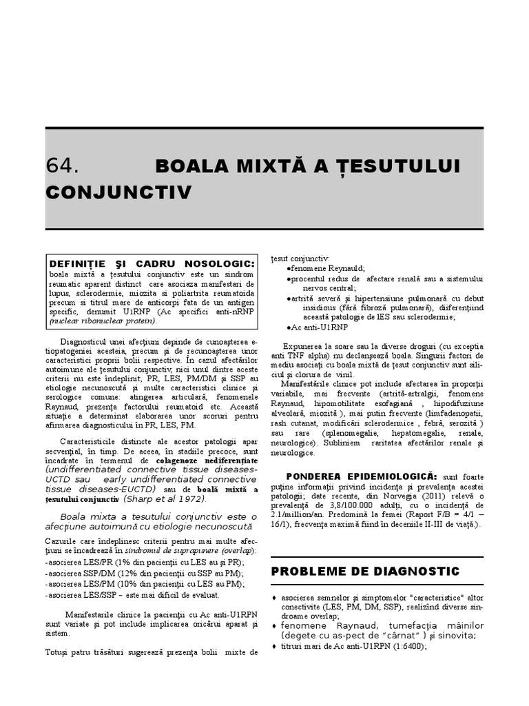 Boala mixtă de țesut conjunctiv - addamsscrub.ro