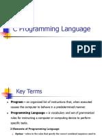 Chapter 2 - C Programming Language.ppt