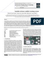 Flexible and extendable advance satellite tracking system