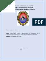 Formularios, Plazos y Medios Para El Suministro