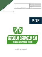 ejemplo de  Manual de Funciones empresa simulada