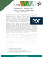 Catedra Virtual Pensamiento Empresarial ModuloI Mentalidad Empresarial