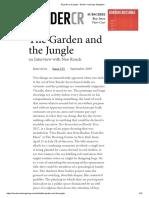 El Jardín y La Jungla - Neo Rauch Border Crossings Magazine