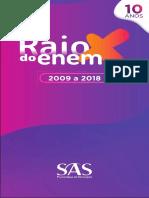 Raio X ENEM 2009 - 2018