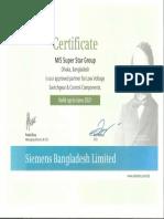 SSG Certificate