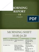 mornig report