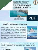 Acción Geológica Del Mar