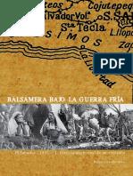 Balsamera Bajo La Guerra Fría El Salvador