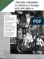 Saber Es Clave-Santillana-cap 4 y 5-Las Soc de Aca y Europa e Los s XIV y XVIII