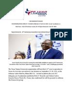 Td Conv News Release 2019