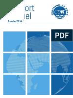 Cdk Rapport Annuel 2014
