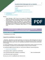Droit Et ion Publique de La France by Laura