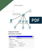Configuración de La Red Nativa y Telefonía IP-problema