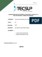 LAB N°6 Electrónica Analógica y Digital