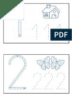 Grafomotricidad Numeros Final PDF